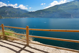 Summer view over of lake Garda in Italy - 187213079