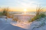 Fototapeta Zachód słońca - Sonnenuntergang an der Ostsee © ThomBal
