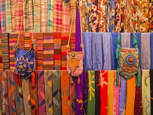 Fotobehang Marokko Einkaufen auf dem Basar