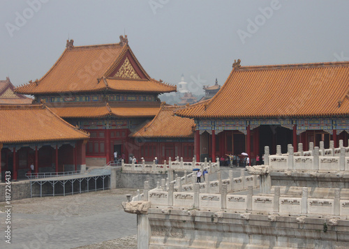 Fotobehang Peking Forbidden City in Beijing