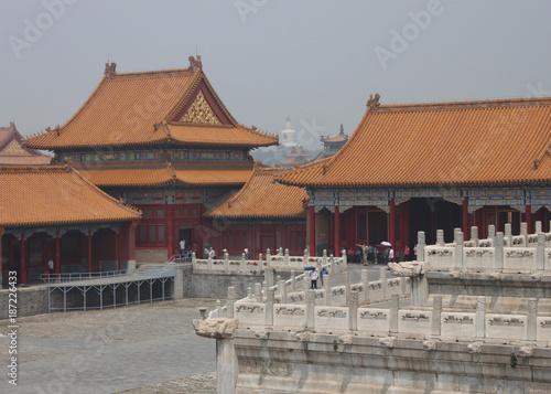 Deurstickers Peking Forbidden City in Beijing