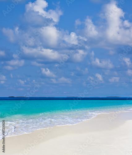 Foto Murales Schöner Maledivenstrand