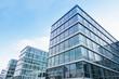Leinwanddruck Bild - modernes Bürogebäude in Deutschland