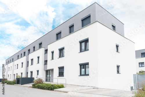 Neubaugebiet in Deutschland - 187233294