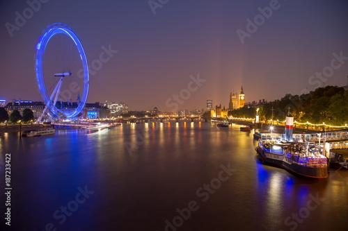 Foto Murales Big Ben at Night, London