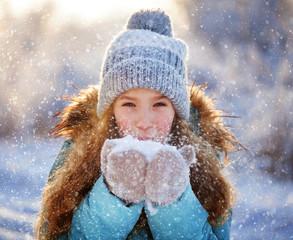 Child at winter