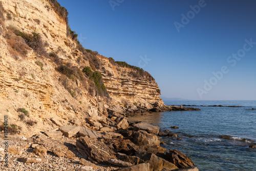 Coastal landscape of Zakynthos island - 187244011