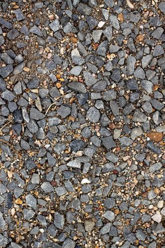 In de dag Stenen Gravel road texture