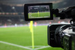 Live broadcast of a football match.