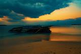 Nusa penida, Bali sea sunset