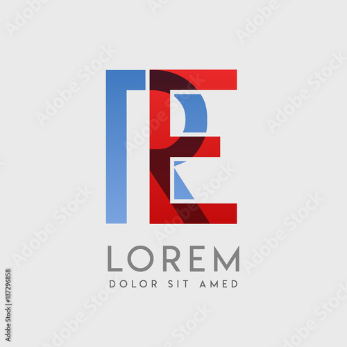 ER logo letters with