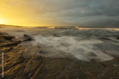 Aluminium Strand Sunrise