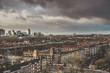 Grey skies over City