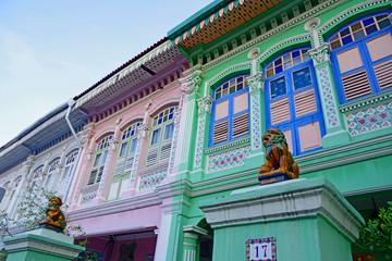 プラナカンスタイルの住宅