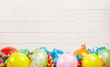 Colorful party background with copy space - 187318436