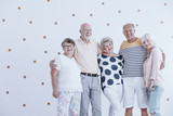 Group of active seniors - 187332434