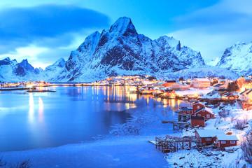 Reine village on Lofoten Islands
