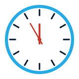Icon - Uhr - 187338084