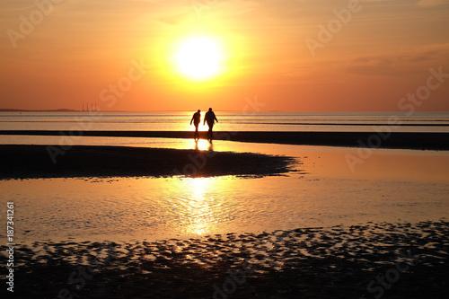 Aluminium Strand beach walk