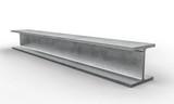steel metal beam 3d - 187342878