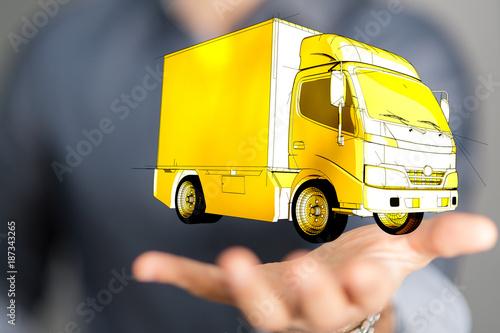 Fototapeta delivery