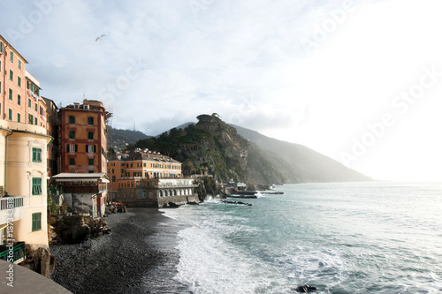Foto op Plexiglas Liguria Camogli