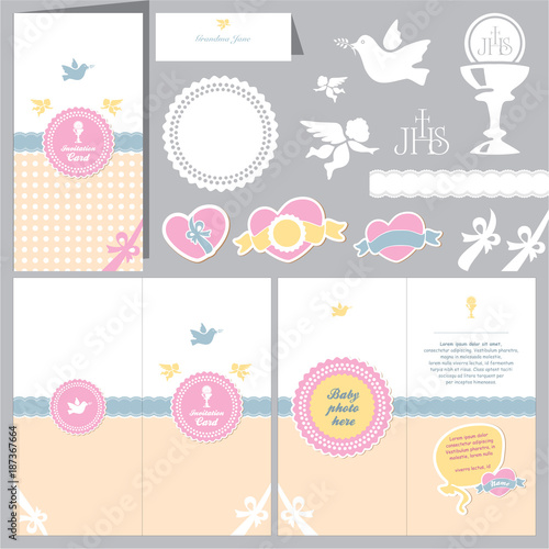 invitation baby card baptism invitation christening card first