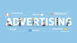 Advertising concept illustration. - 187368892