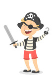Pirate Boy Wall Sticker