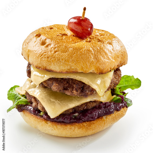 Aluminium Hert Double decker or whopper Venison burger