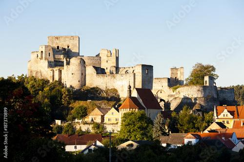 ruins of Rabi Castle, Czech Republic Poster