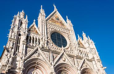 Siena Cathedral Duomo di Siena, Tuscany, Italy.