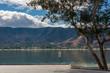 Waterside view of Lake Elsinore in California