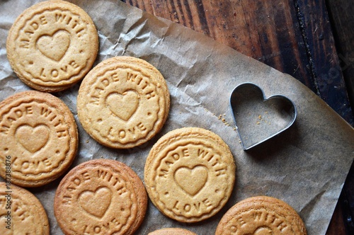 Cookies love and flowers - 187388876