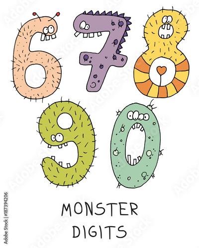 monster digit - 187394206