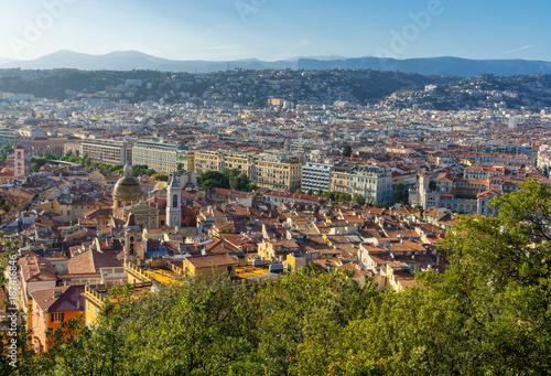 Tuinposter Nice View to Nice, France