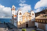 View of Basilica de Candelaria from West on sunny day, Tenerife. - 187418476