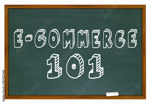 E-commerce Sell Make Money Online Digital Business 3d Illustration Poster