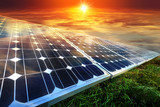 Solar panels, photovoltaics - alternative electricity source - 187433444