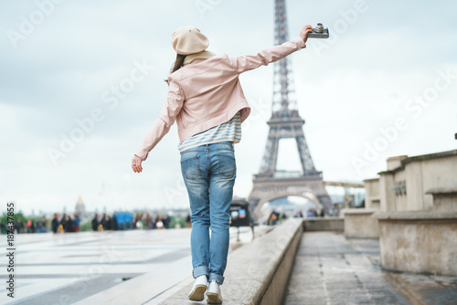 Wall mural Photographer on vacation