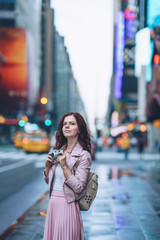 Young girl in New York