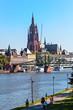 Stadtansicht Frankfurt rund um den Eiserner Steg