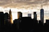 Skyline of New York City. - 187443024