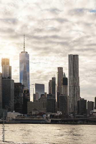 Skyline of New York City. - 187443018