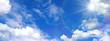 青空と雲と太陽 - 187443207