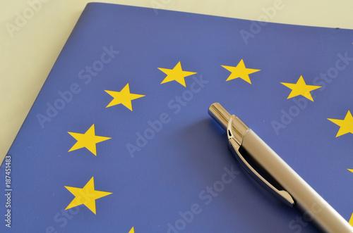 Aluminium Brussel symbol Unii Europejskiej