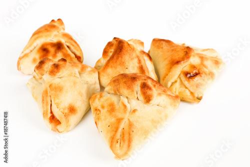 Foto op Canvas Pizzeria gefüllte Pizzabrötchen