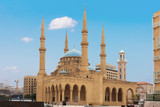 Mohammad Al-Amin Mosque in Beirut capital city of Lebanon Middle east - 187492242