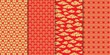 Chinese pattern set. Decorative background,illustration EPS10.