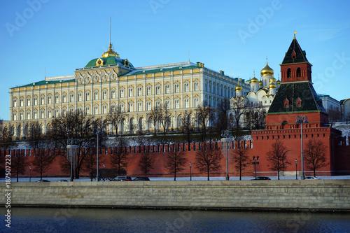 Aluminium Moskou Palace and church